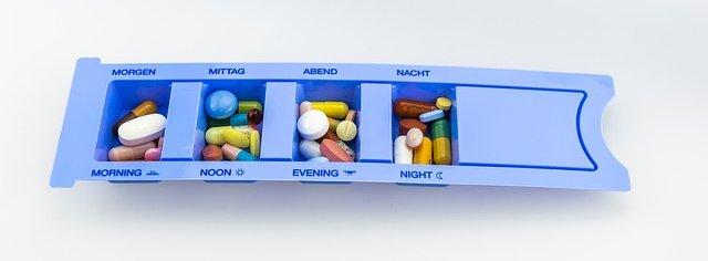 Wir helfen bei der Einnahme von Medikamenten