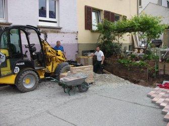 Gartenbauarbeiten