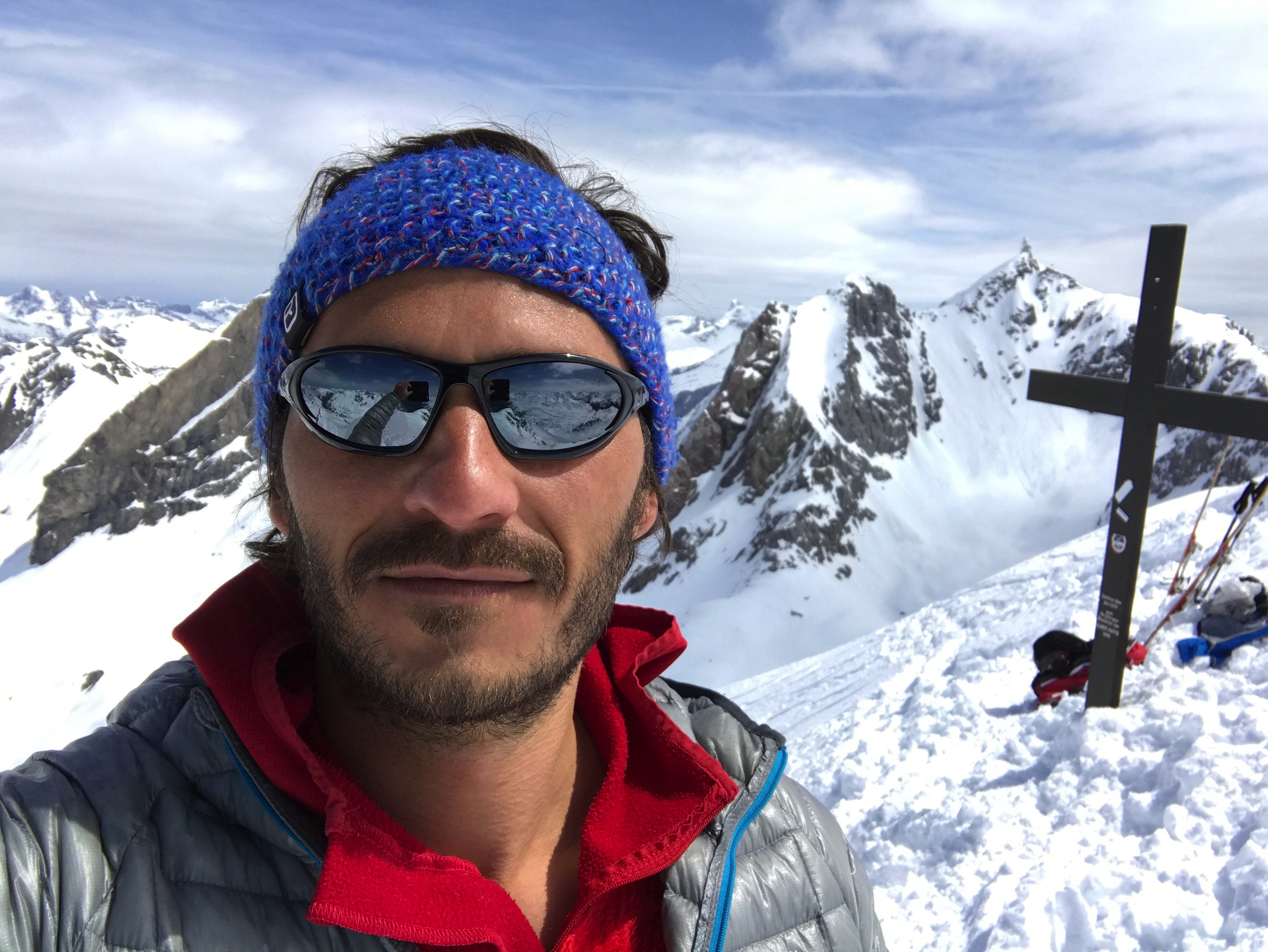 Christoph Specht in Zürs Österreich
