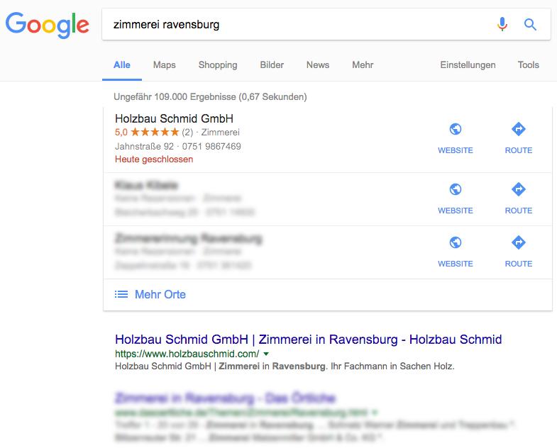 Referenz von Seo Agentur Ravensburg