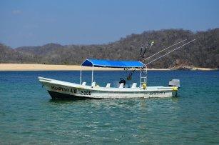 Tour 9 bahías de Huatulco con nuestra lancha
