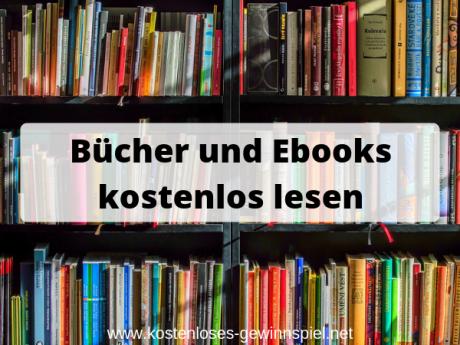 Kostenlos Bücher und Ebooks lesen