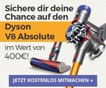 Dyson V8 Absolute gewinnen