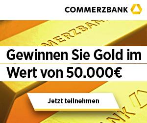 Beim Gold Gewinnspiel 50000 gewinnen