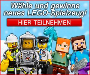 Lego gewinnen beim Lego Gewinnspiel