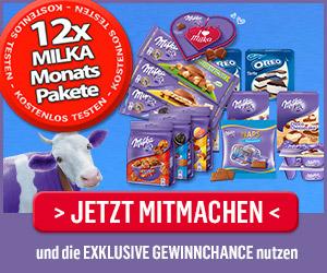 Milka Produkttester werden