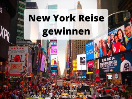 Gewinnspiel Reise nach New York