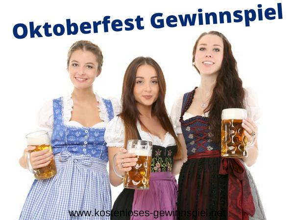 Oktoberfest Gewinnspiel