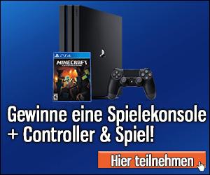 PS4 Gewinnspiel Playstation gewinnen