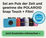 Kostenlos Polaroid Kamera gewinnen