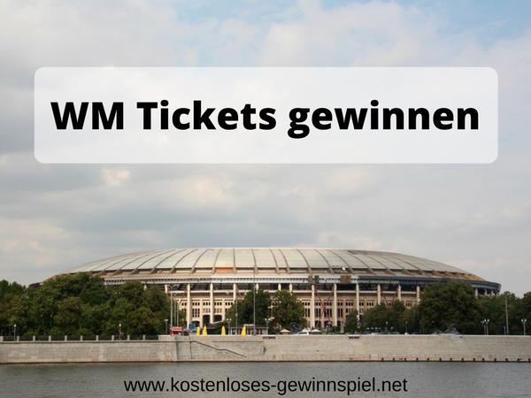 WM Tickets gewinnen