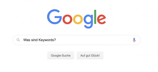 definition von keywords