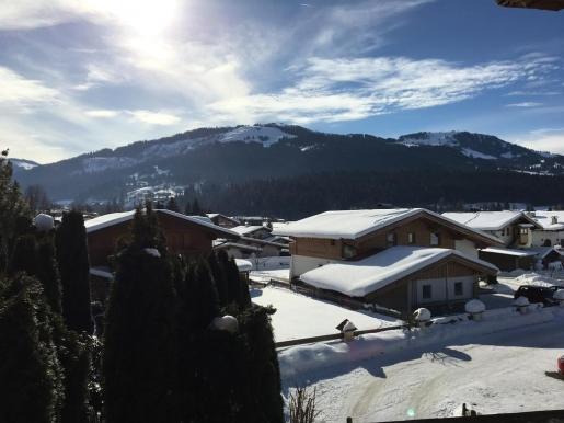 Ihr Ausblick vom Balkon der Ferienwohnung in die Tiroler Alpen