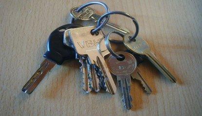 schlüssel einer haustür