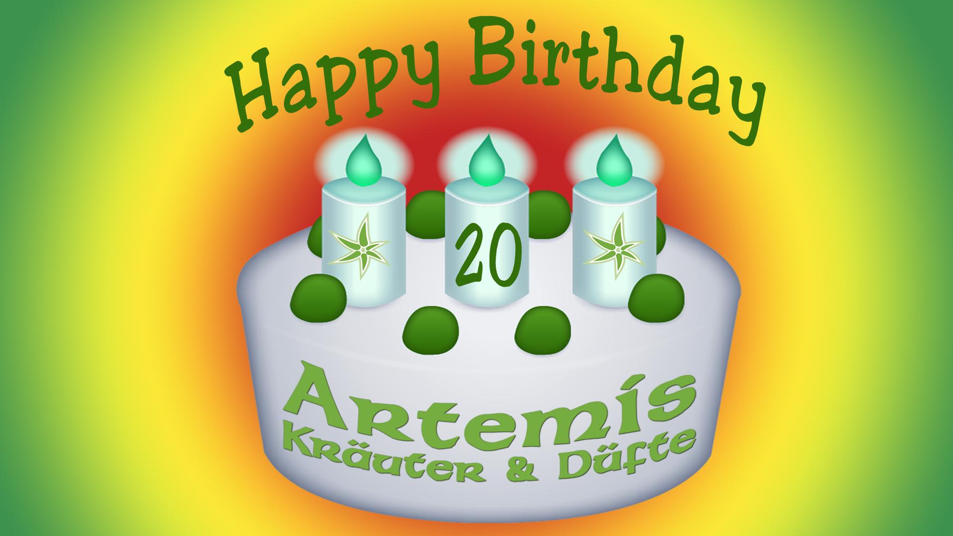 Artemis Kräuter und Düfte feiert 2019 sein 20 jähriges Jubiläum!