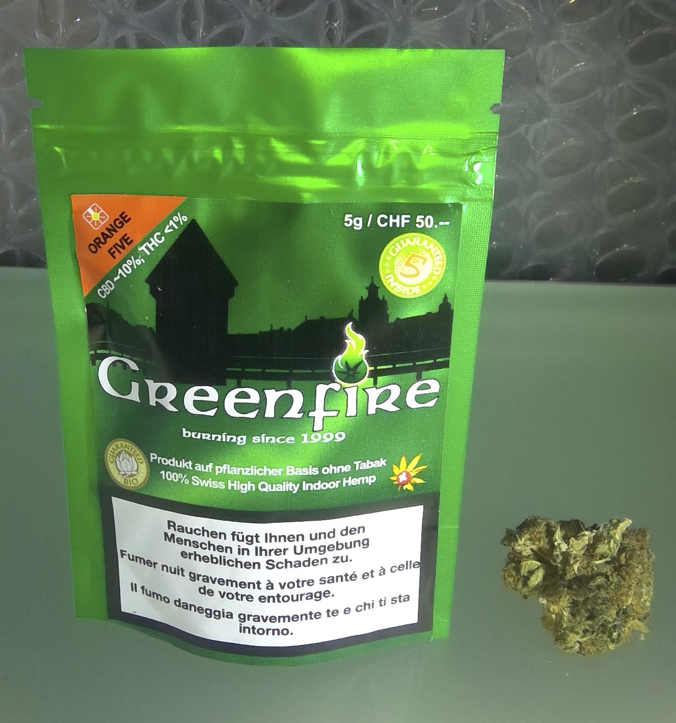 Unsere Hausmarke Greenfire Orange Five