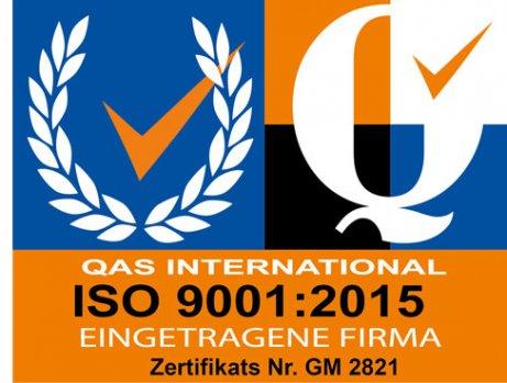 TÜV 77200:2008 und ISO 9001:2015 Sicherheitsdienst Zertifizierung