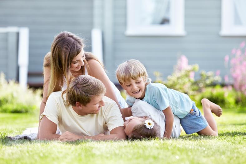 Mit uns ins eigene Heim - Die günstige Finanzierung macht´s möglich