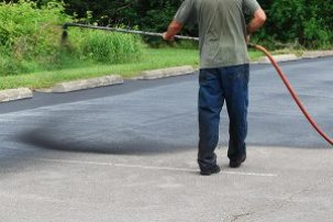 asphalt repair spray