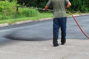 asphalt repair spray