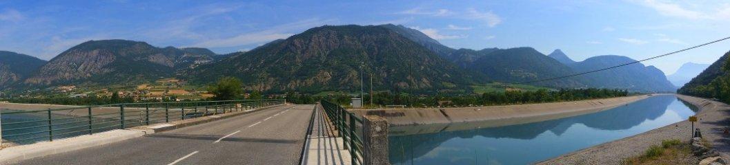 Unterwegs am Lac de Serre Pochon