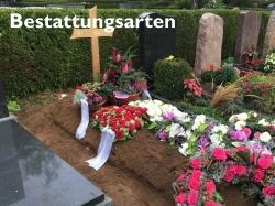 Bild und Link zu den Bestattungsarten