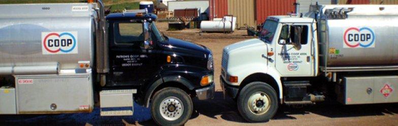 Patrons Coop trucks