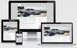 responsive Design BMW-Knopf Schriesheim