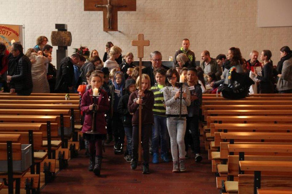 Weggottesdienst Erstkommunion