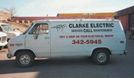 Clark Electric Van