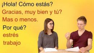 Hola - Hallo auf Spanisch