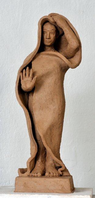 Modell für ein Mahnmal gegen Gewalt an Frauen und Mädchen, Köln