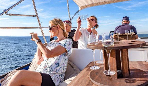 Baltic Yacht Bornholm, business charter,  Coast trip