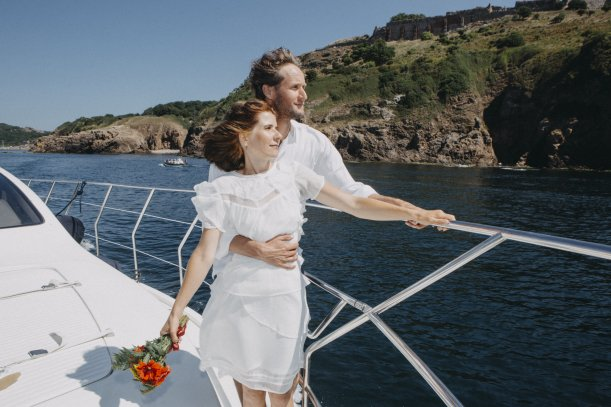 Baltic Yacht Bornholm, Private Charter,  Hochzeitstour