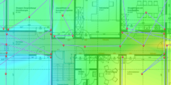 WLAN Audit mit Heatmap