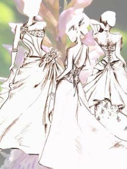 Croquis corsets