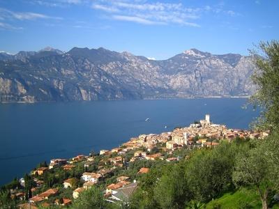 Malcesine Gardasee Italien Ferienappartements