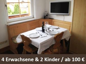 """Ferienwohnung """"Kaiserbad"""" in Ellmau / Tirol ab 100 Euro für 4 Personen, 2 Kinder pro Nacht"""