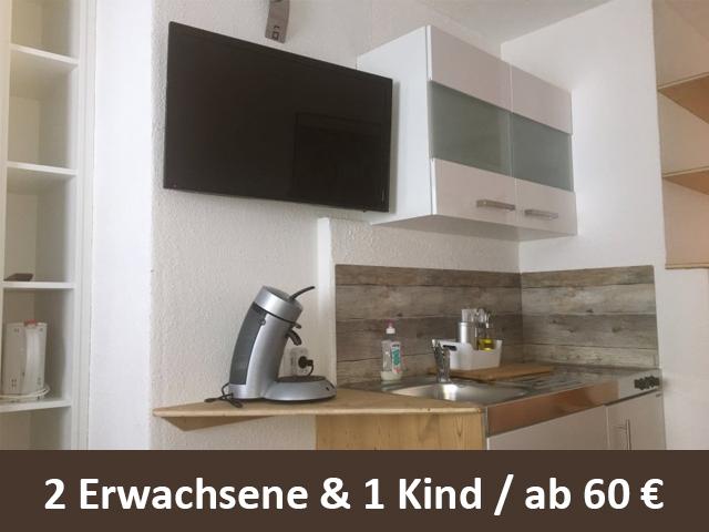 """Ferienappartment """"Wilder Kaiser"""" in Österreich Tirol Ellmau ab 60 Euro 2,5 Personen und Nacht"""