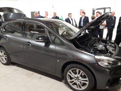 Ein aktuelles Elektroauto von BMW
