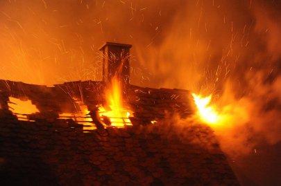 Wohnhausbrand in Kirchberg 19.11.2017