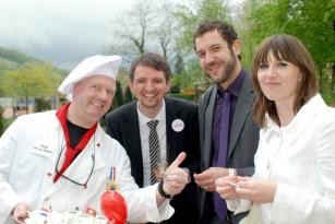 Hochzeit Künstler Frankfurt Comedy-Kellner