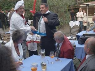 Comedy-Kellner Frankfurt Hochzeit