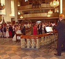 Hochzeit Künstler Frankfurt Gesang bei der Trauung