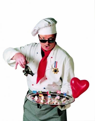 Comedy-Spass-Kellner-Empfangskochchef