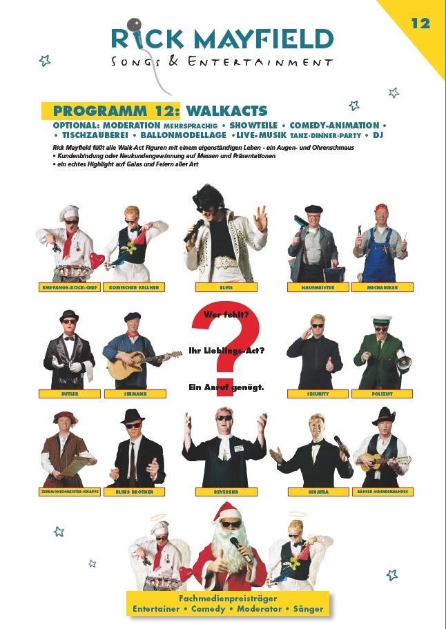 Comedy-Spaß-Kellner Frankfurt - Walk-Acts