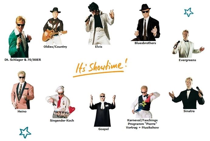 Elvis-Double-Show Frankfurt