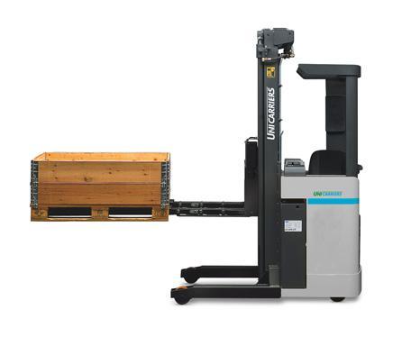 ERGO ATF/XTF Fahrerstand- und Fahrerquersitzstapler mit Teleskopgabeln