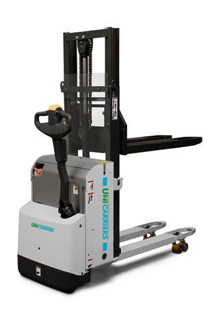 PSD Kompakter und flexibler Allround-Deichselstapler für Doppelpalettenbetrieb