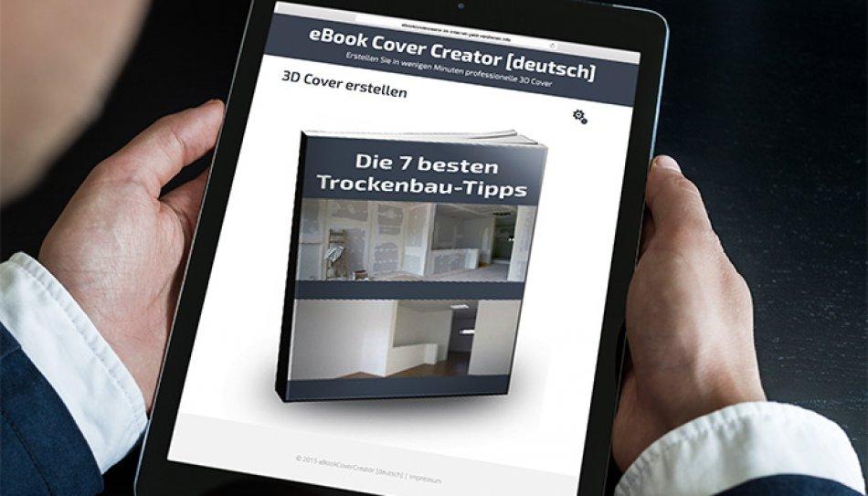 Verwenden Sie Das Erstellte 3D Cover